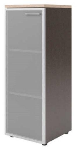 Skyland Xten Office Cabinet XMC 42.7 Left Tiara Beech/Legno Dark