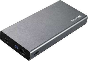 Зарядное устройство - аккумулятор Sandberg, 20000 мАч, черный