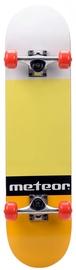 Скейтборд Meteor Salty, желтый/oранжевый
