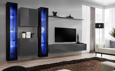 ASM Switch XVI Wall Unit Graphite/Black
