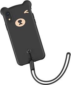 Baseus Bear Back Case For Apple iPhone XR Black