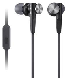 Austiņas Sony XB50AP Extra Bass Black