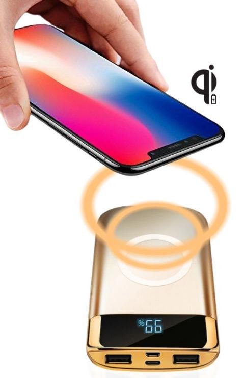 InnovaGoods Qi Wireless Power Bank 10000mAh