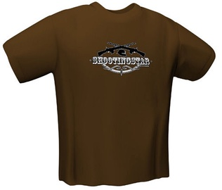 GamersWear Shootingstar T-Shirt Brown S