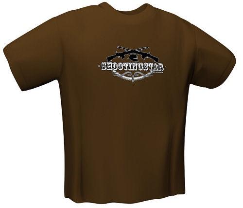 GamersWear Shootingstar T-Shirt Brown S