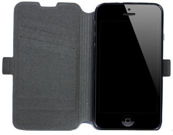 Telone Super Slim Shine Book Case Sony Xperia M4 Aqua Black
