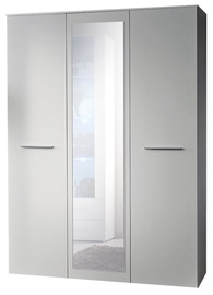 ASM Big Wardrobe w/ Mirror White Matt