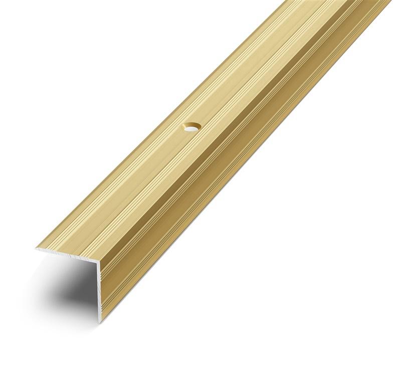 Grace Stair Nosing D5 2.7m Gold