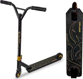 Самокат SportVida Freestyle Stunt RS, золотой/черный