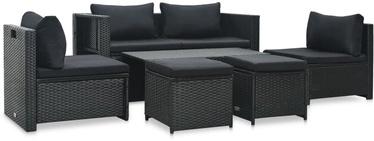 Āra mēbeļu komplekts VLX 6 Piece Garden Lounge Set With Cushions
