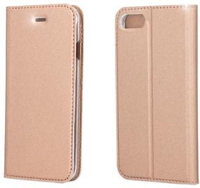 Blun Premium Smart Magnetic Fix Book Case For Huawei P9 Lite 2017 Rose Gold