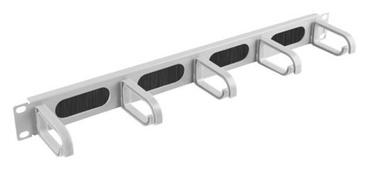 Lanberg 19'' Cable Management 1U Grey