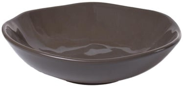 Bradley Organic Ceramic Plate 22cm Brown 12pcs