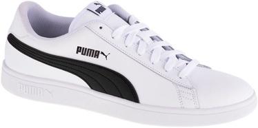 Puma Smash V2 Shoes 365215-01 White/Black 40.5