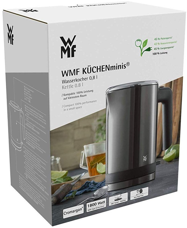Elektriskā tējkanna WMF KUCHENminis 413140041, 0.8 l