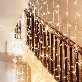Электрическая гирлянда Niveda LED Curtain White, 3x3 м