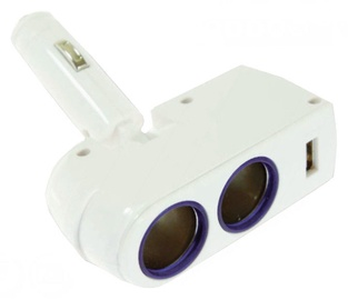 Bottari Wally Double Socket with USB Port 30081