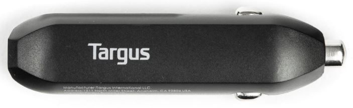 Targus Car Charger For Tablets/Phones Black