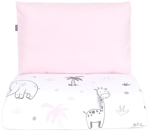 MamoTato Bedding Set Safari Pink 2pcs