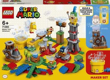 Konstruktors LEGO Super Mario Radi savu piedzīvojumu: veidotāja komplekts 71380, 366 gab.