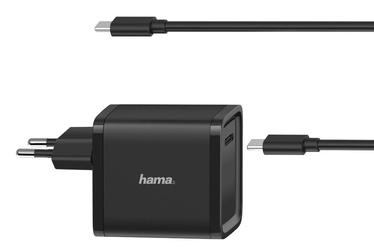 Hama Universal USB-C Power Supply 45W Black