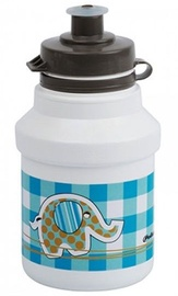 Polisport Kids Bottle + Bottle Cage White/Blue