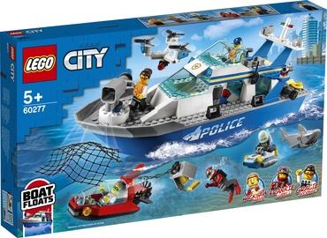 Constructor LEGO City Police Patrol Boat 60277