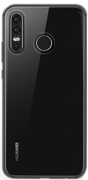 Mocco Ultra 1mm Back Case For Huawei P30 Lite Transparent