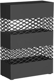 Lietussargu statīvs Songmics, melna, 280x120x410 mm