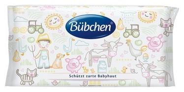 Mitrās salvetes Bubchen Sensitive, 52 gab.