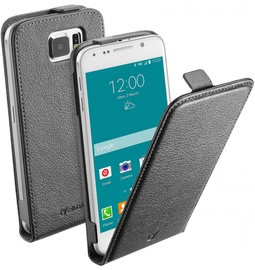 Cellular Line Flap Essential Case For Samsung Galaxy S6 Black