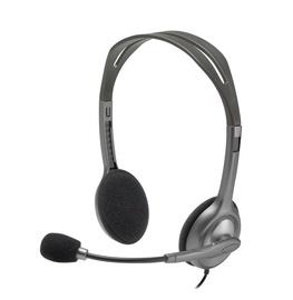 Наушники Logitech H111 Analog, серый