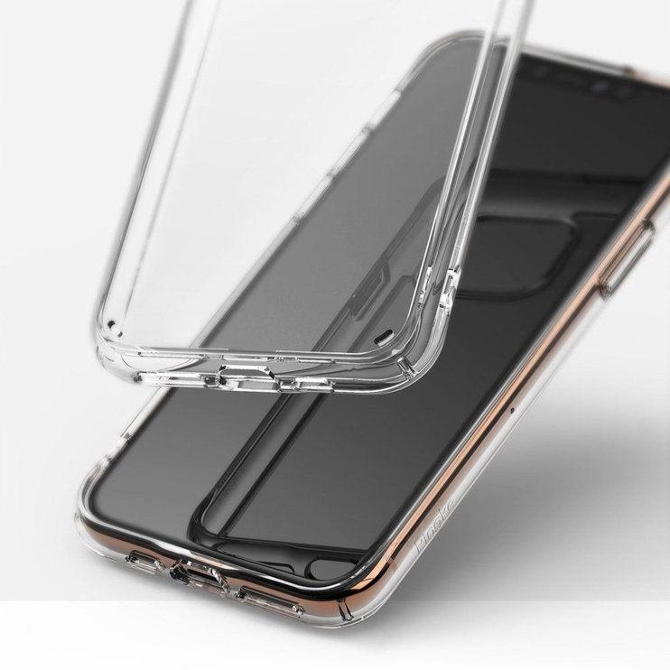 Ringke Fusion Matte Back Case For Apple iPhone 11 Pro Transparent