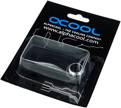 Alphacool Double Nipple G1/4 With O-ring Chrome
