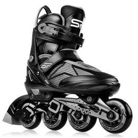 Ролики Spokey Speed Pro, черный, 33-36