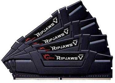 G.SKILL RipjawsV Black 64GB 3600MHz CL18 DDR4 KIT OF 4 F4-3600C18Q-64GVK