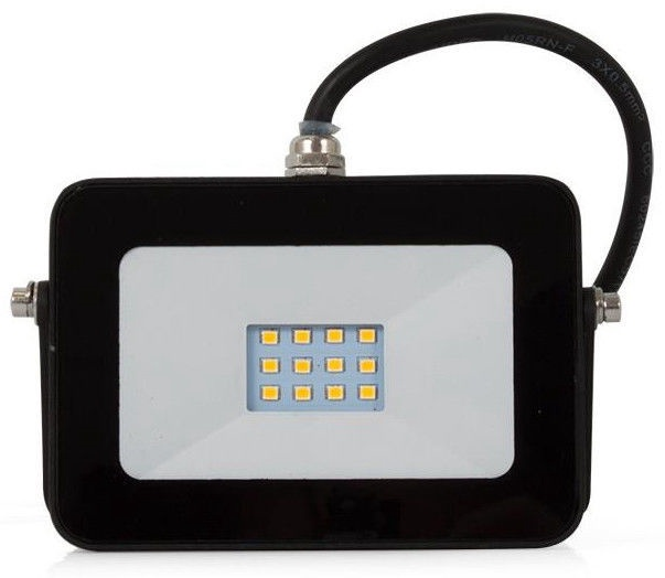 Abilite Floodlight LED 10W 230V Flat Black