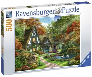 Puzle Ravensburger Cottage Hideaway 147922, 500 gab.