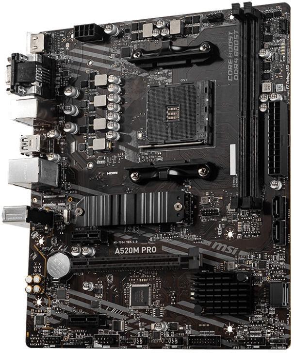 Mātesplate MSI A520M PRO