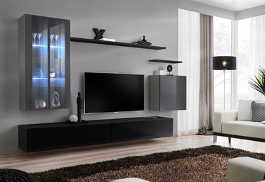 ASM Switch XII Wall Unit Black/Graphite