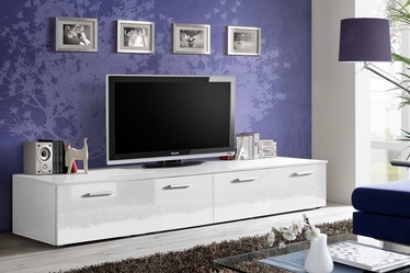 TV galds ASM Duo White, 2000x450x350 mm