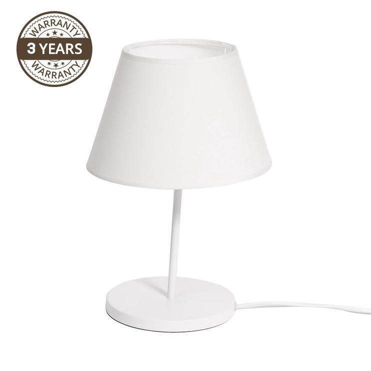 Gaismeklis Domoletti Leja T18013-D25-WH Table Lamp 40W E27