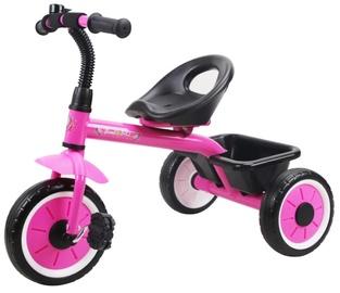 Трехколесный велосипед Bottari Unicorn 77806, черный/розовый