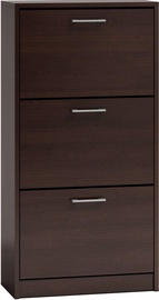 Top E Shop Paula Wenge Shoe Cabinet
