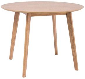 Обеденный стол Signal Meble Mosso II Oak, 1000x1000x750 мм
