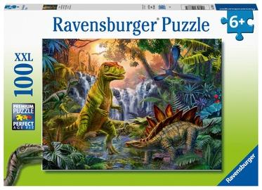 Пазл Ravensburger XXL Dinosaur Oasis 128884, 100 шт.