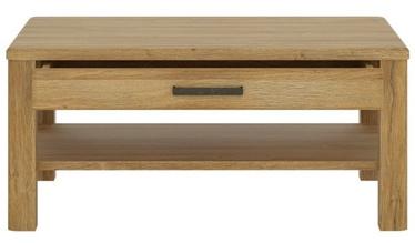 Kafijas galdiņš Meble Wojcik Cortina CNAT04 Grandson Oak, 1000x750x456 mm