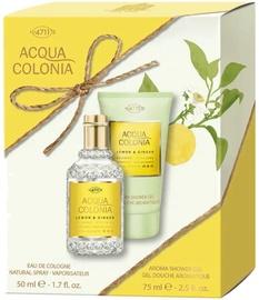 Komplekts sievietēm 4711 Acqua Colonia Lemon & Ginger 2pcs Set 125 ml EDC Unisex
