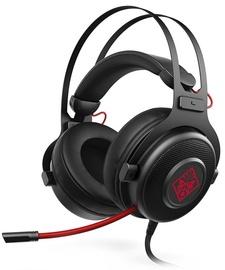 Наушники HP Omen 800 Black/Red