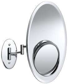 Зеркало Axentia Wall Chrome, подвесной, 20x30.5 см